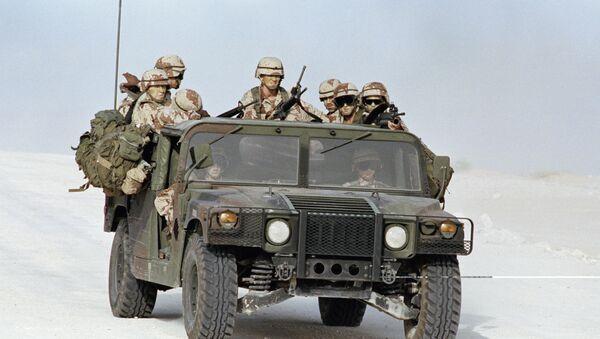 Америчке трупе у Саудијској Арабији - Sputnik Србија