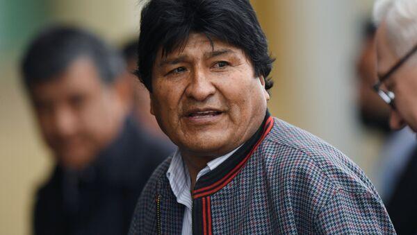 Evo Morales - Sputnik Srbija