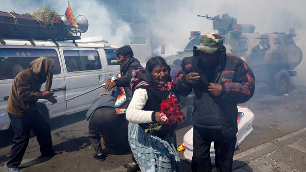 Протести у Боливији - Sputnik Србија