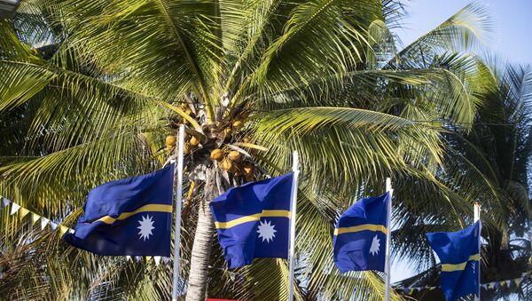 Nauru zastava - Sputnik Srbija