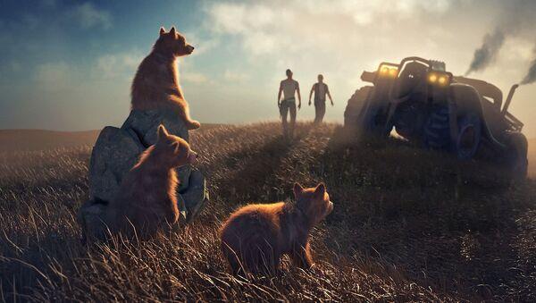 Медведи и људи - анимација - Sputnik Србија