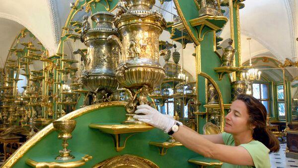 "Музејска колекција ""Зелени трезор"" у Дрездену (архивска фотографија) - Sputnik Србија"