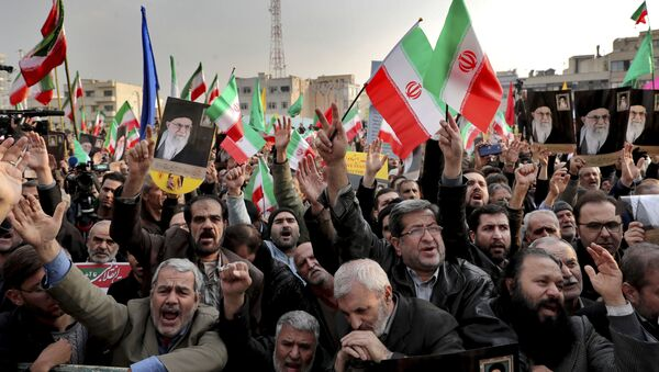 Провладине демонстрације у Техерану - Sputnik Србија