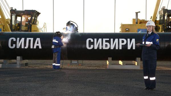 Радови на гасоводу Снага Сибира - Sputnik Србија