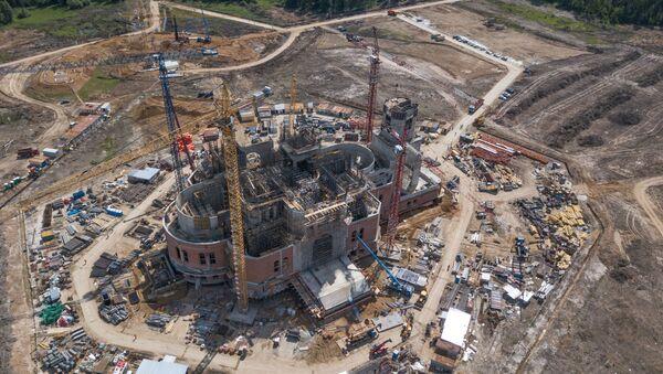 Изградња храма Оружаних снага Русије - Sputnik Србија