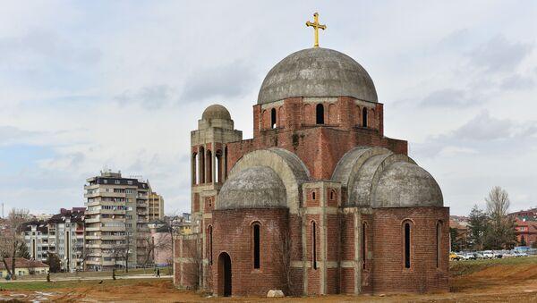 Crkva Svetog spasa u Prištini - Sputnik Srbija