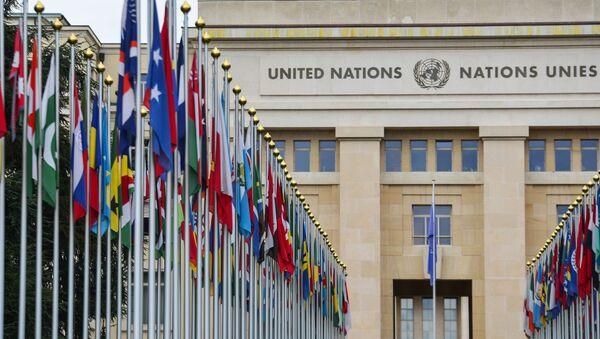 Зграда Уједињених нација у Женеви - Sputnik Србија