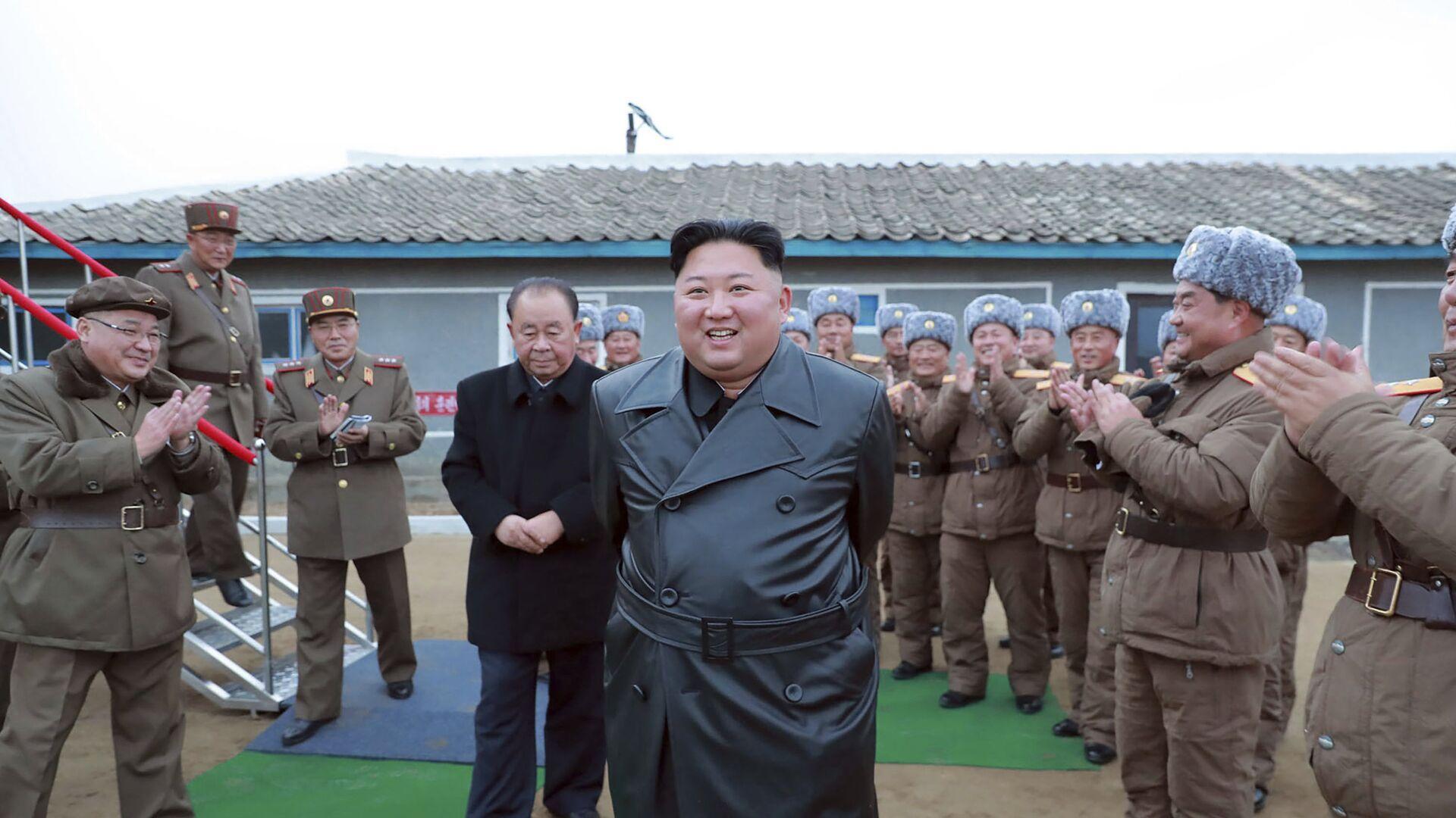 Severnokorejski lider Kim Džong Un  - Sputnik Srbija, 1920, 21.08.2021