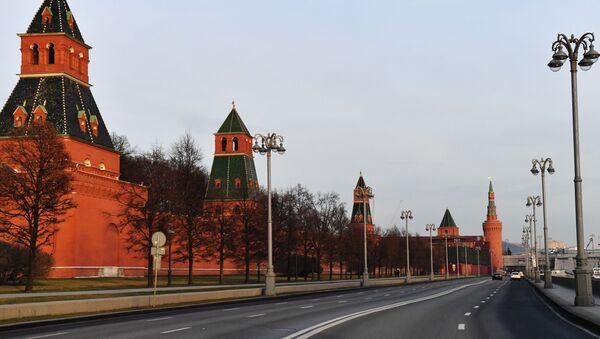 Зидине Кремља на обали реке Москве - Sputnik Србија
