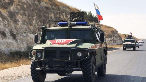 Оклопна возила војне полиције Русије у Сирији - Sputnik Србија