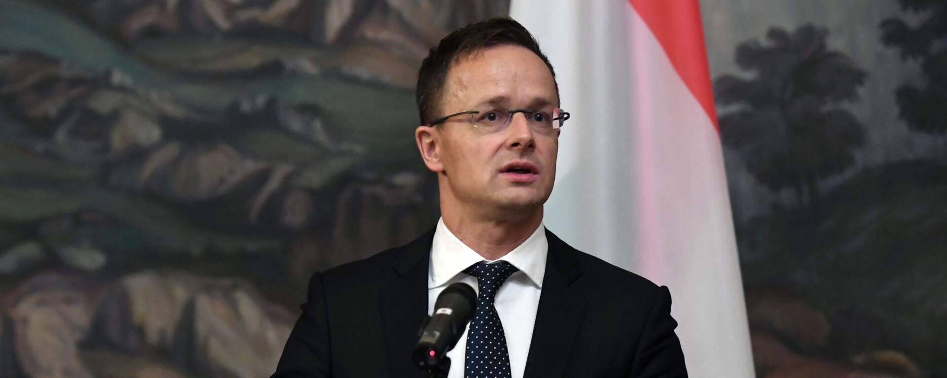 Министар спољних послова Мађарске Петер Сијарто - Sputnik Србија, 1920, 02.12.2019