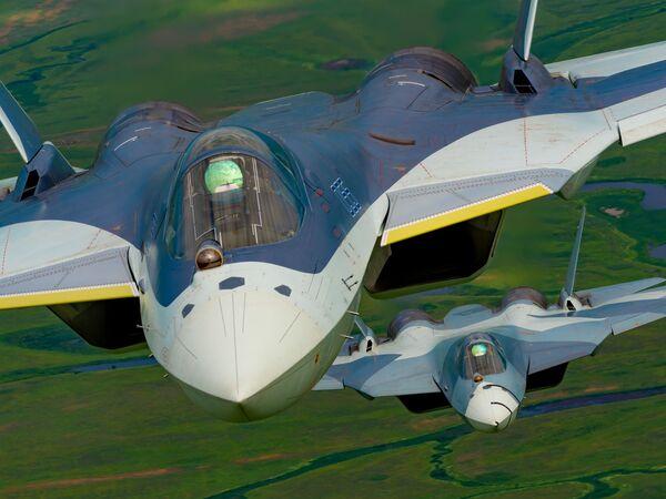 Руски вишенаменски ловац пете генерације Су-57 - Sputnik Србија