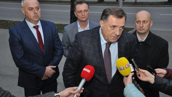 Милорад Додик: Уверен сам да Инцко не говори у име државе Аустрије - Sputnik Србија