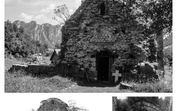 Manastir Zagrađe, hram posvećen Svetom Jovanu Krstitelju 1997. godine  - Sputnik Srbija