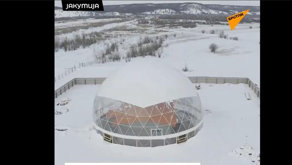 Dom pod kupolom - naučni eksperiment u Jakutiji - Sputnik Srbija