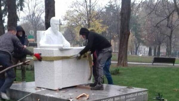 Споменик Николају Краснову, Ташмајдан - Sputnik Србија