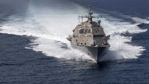 Амерички ратни брод - Sputnik Србија