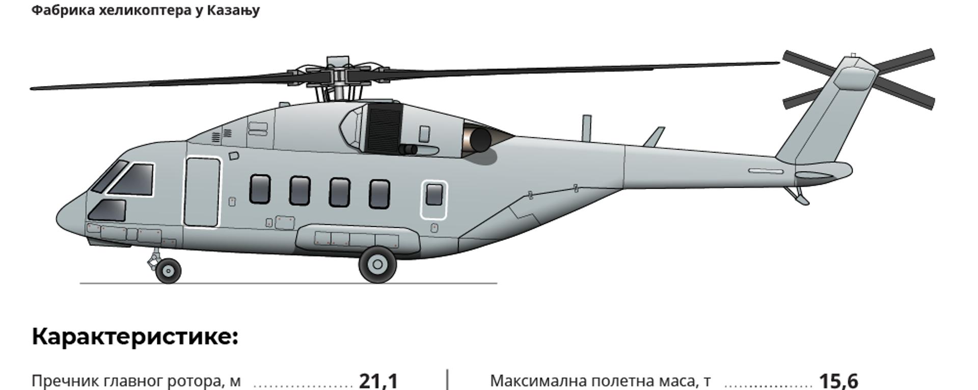 Хеликоптер Ми-38Т - Sputnik Србија, 1920, 09.12.2019