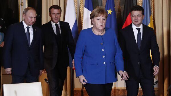 Lideri normandijske četvorke na samitu u Parizu - Sputnik Srbija