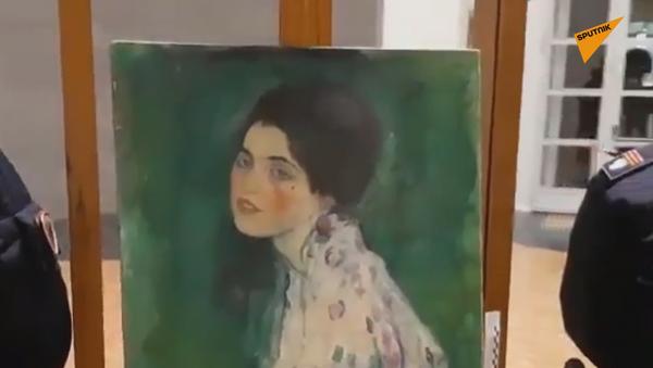 Klimtova slika Portret dame za koju se sumnjalo da je ukradena 1997. godine - Sputnik Srbija