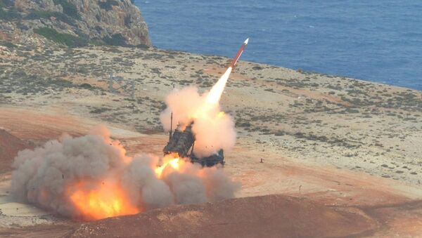 Lansiranje rakete iz sistema Patriot  - Sputnik Srbija