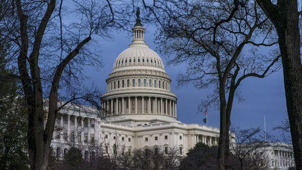 Zgrada američkog Kongresa u Vašingtonu - Sputnik Srbija