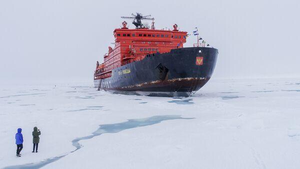 Ruski ledolomac na Arktiku - Sputnik Srbija