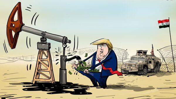 Украдена сиријСка нафта - Sputnik Србија
