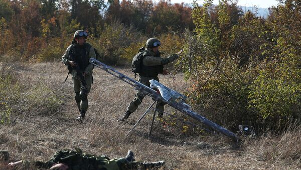 Obuka oficira Oružanih snaga Rusije - Sputnik Srbija