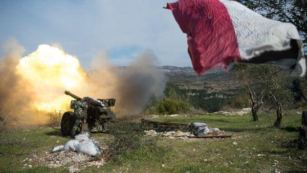 Sirijska vojska u provinciji Idlib - Sputnik Srbija