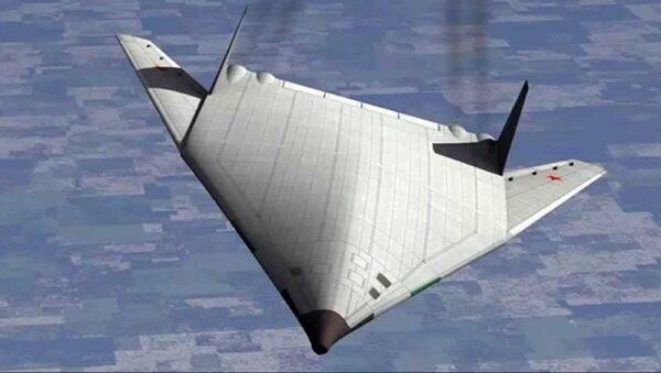 Nevidljivi ruski bombarder PAK DA - Sputnik Srbija