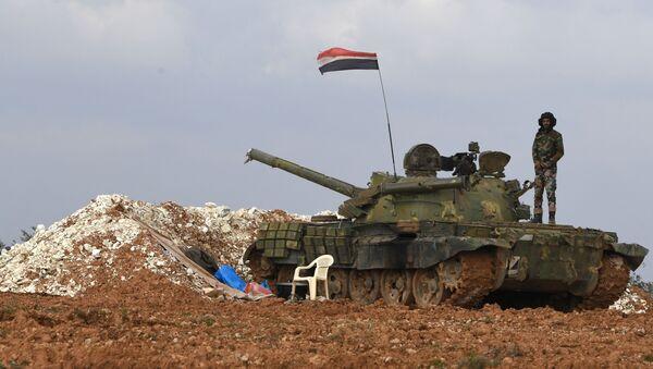 Položaj sirijske vojske - Sputnik Srbija