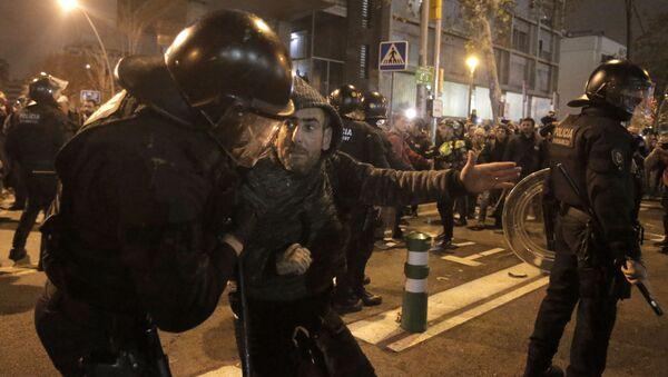 Protetst katalonskih separatista uoči duela Real Madrida i Barselone - Sputnik Srbija