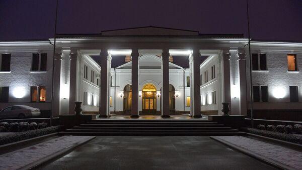 Zgrada kontakt grupe u Minsku  - Sputnik Srbija