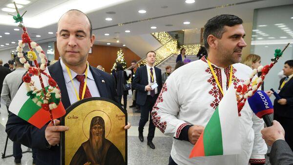 Велика годишња конференција за штампу председника Русије Владимира Путина  - Sputnik Србија