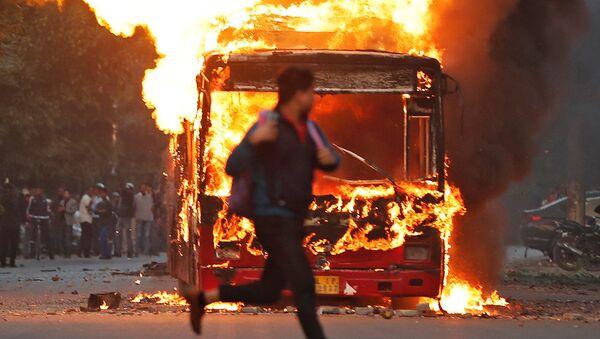 Протести у Њу Делхију. - Sputnik Србија