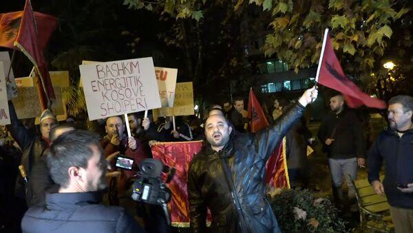 Протест против Вучића у Тирани - Sputnik Србија