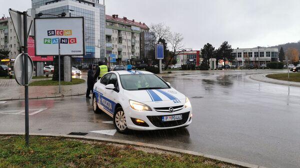 Crnogorska policija u Nikšiću - Sputnik Srbija