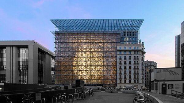 Zgrada Evropa u Briselu - Sputnik Srbija