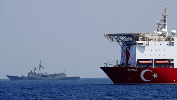 Турски брод у Медитерану - Sputnik Србија