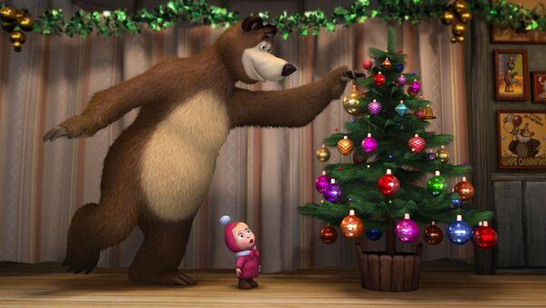 Scena iz crtanog filma Maša i medved - Sputnik Srbija