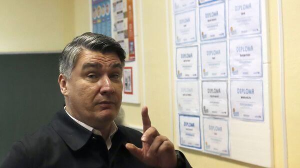 Зоран Милановић - Sputnik Србија
