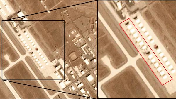 "Desetak misterioznih objekata pojavilo se 9. decembra 2019, satelitske fotografije poligona ""Tonopa"" u Nevadi - Sputnik Srbija"