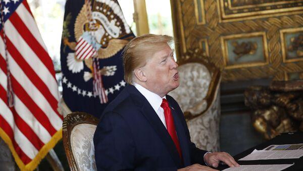 Predsednik Sjedinjenih Američkih Država Donald Tramp - Sputnik Srbija