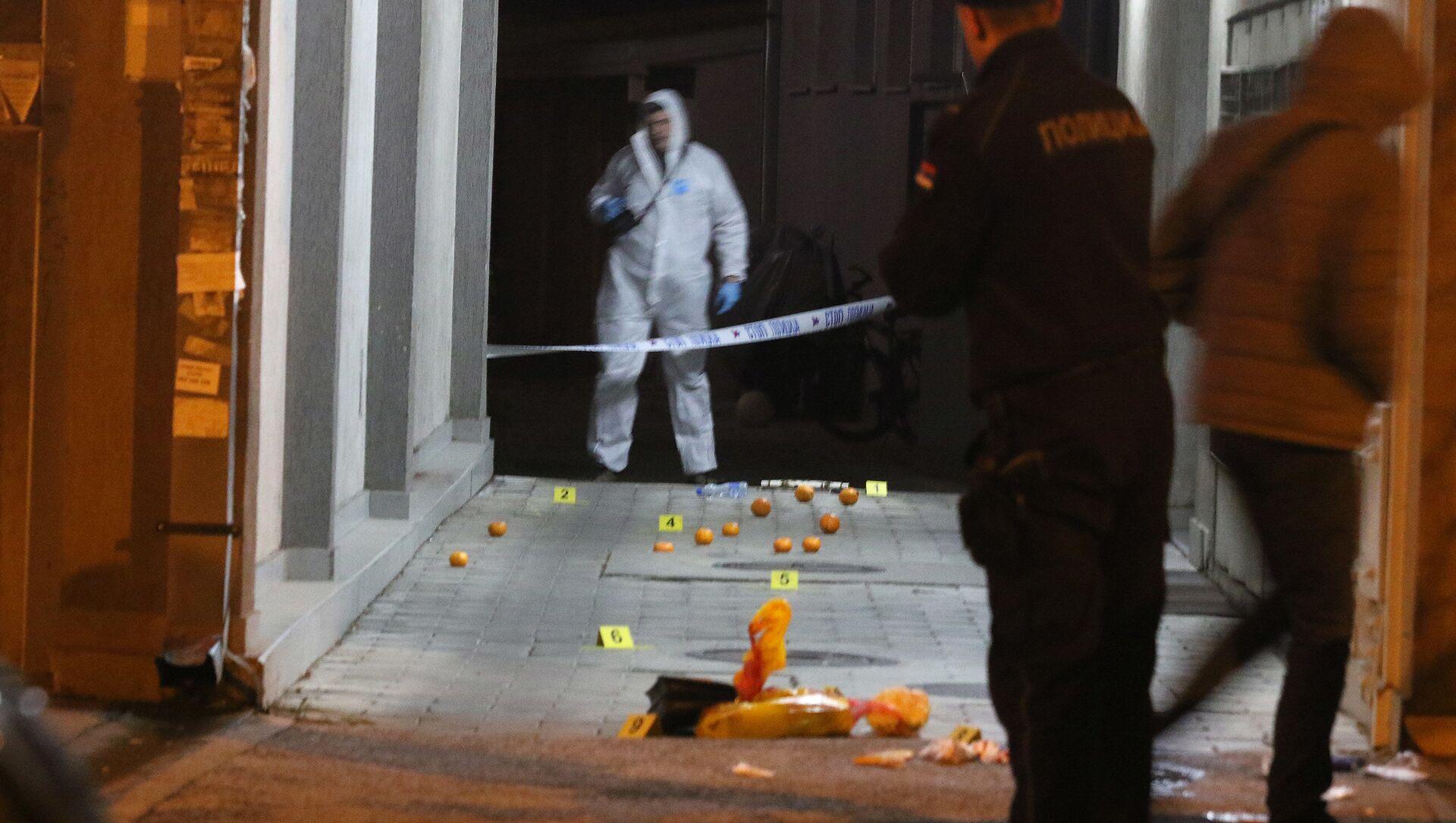 Policija vrši uviđaj u Novom Sadu - Sputnik Srbija, 1920, 21.02.2021