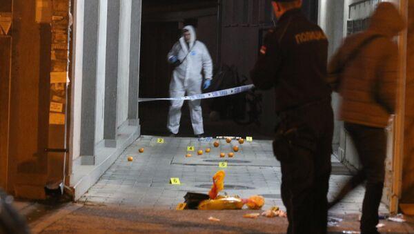 Policija vrši uviđaj u Novom Sadu - Sputnik Srbija
