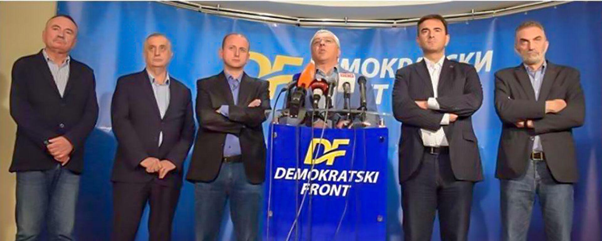 Lideri Demokratskog fronta  - Sputnik Srbija, 1920, 22.09.2021