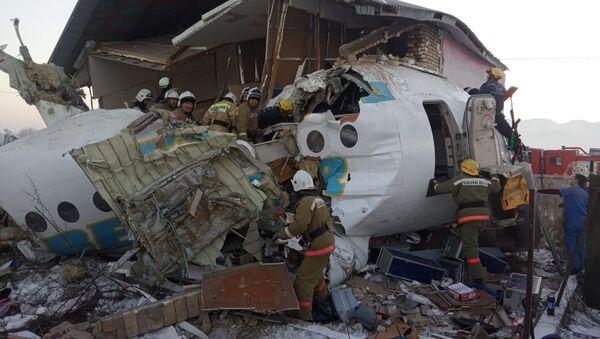 Срушио се авион у Казахстану - Sputnik Србија