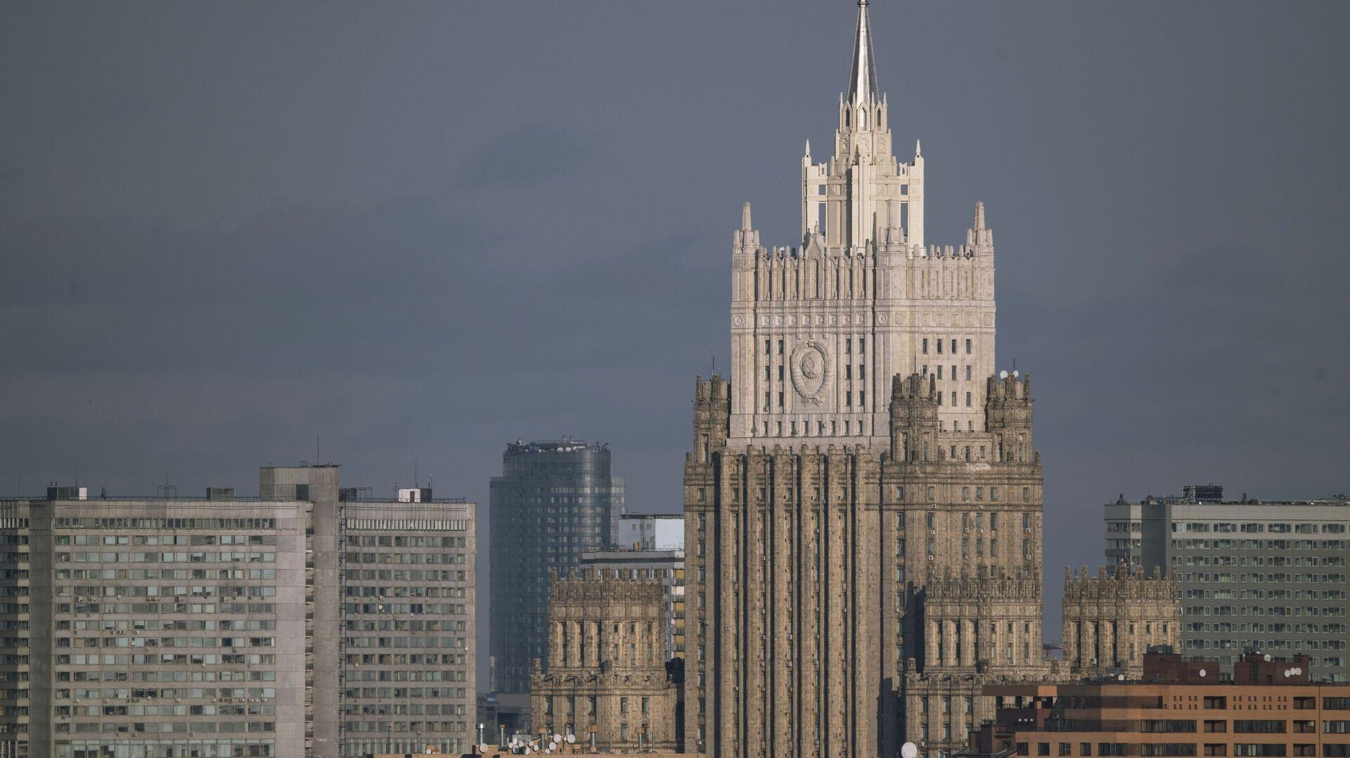 Зграда Министарства спољних послова Русије у Москви - Sputnik Србија, 1920, 07.10.2021