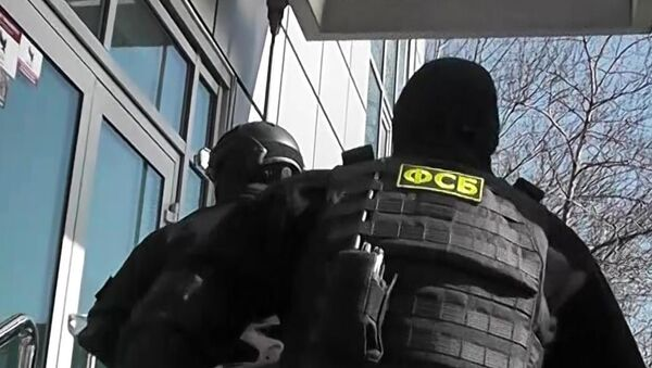 Припадници ФСБ у акцији - Sputnik Србија